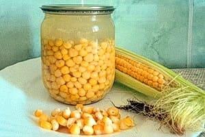 Консервированная кукуруза, узнайте, как закрыть кукурузу на зиму по простому рецепту