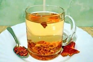 Чай из гранатовой кожуры