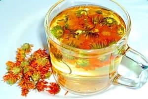 Чай из сухих цветочков — календула применяется при многих заболеваниях.