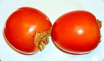 Два плода хурмы